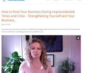 Keys To Creating Clarity & Business Immunity in Challenging Times