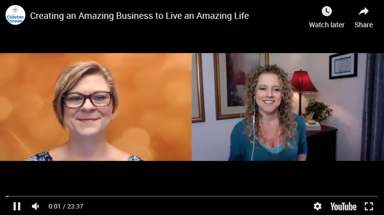 Creating an Amazing Business to Live an Amazing Life