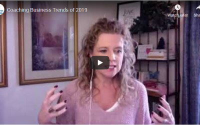 Coaching Business Trends of 2019