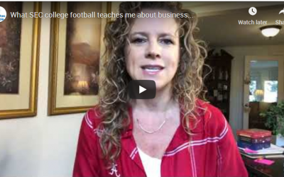 What SEC college football teaches me about business… (this may also support you even if you hate sports!)