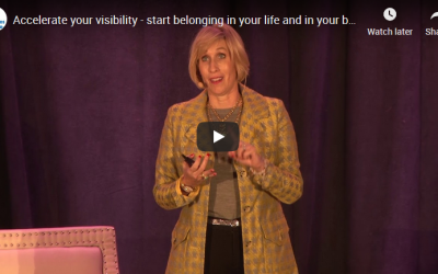 Accelerate your visibility – start belonging in your life and in your business | CBA Case Study